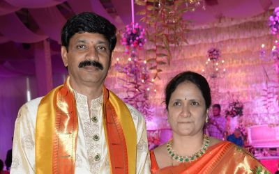 Kurra Srinivas Rao and Radhika