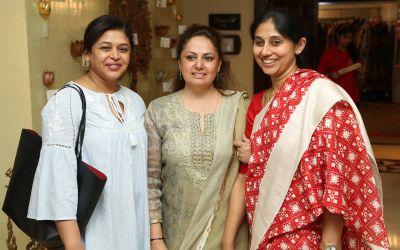 Mita Mehta, Poonam Choudary and Sarita Reddy
