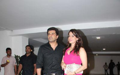 Neelam Kothari and Samir Soni