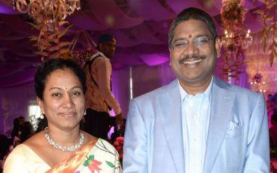 Sajja Lakshmi and Kishore Babu