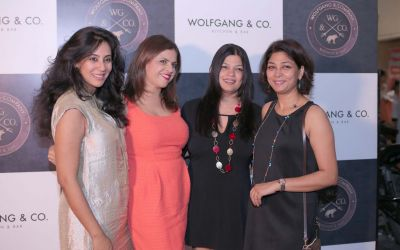 Sonia Basu, Lali Kapoor, Meghana Kapur and Nupur Goenka
