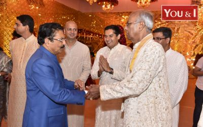 Marriage ceremony of Anindith Reddy and Shriya Bhupal at