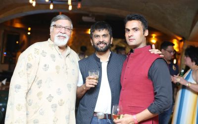 POST SHOW SUCCESS SOIREE OF LABEL VIRTUES BY VIRAL, ASHISH & VIKRANT