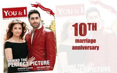 Abhishek Bachchan and Aishwarya Rai Bachchan celebrate their 10th Anniversary