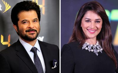 anil and madhuri film