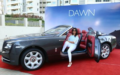 The Phoenix Mills Ltd. host a Display and Drive Event of ROLLS ROYCE DAWN and GHOST SERIES II