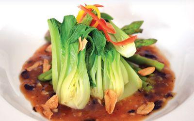 Asparagus-Bok-Choy