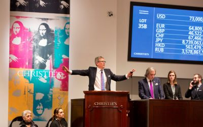 Christie's Just Sold Over 1 Billion USD Worth of Artwork