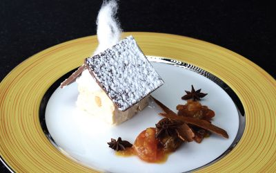 Gingerbread-Semifreddo