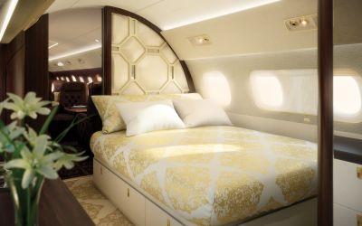 Coolest private jet interiors