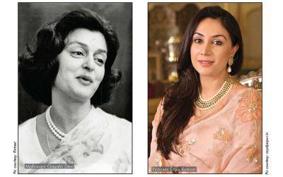 Maharani Gayatri Devi - Princess Diya Kumari