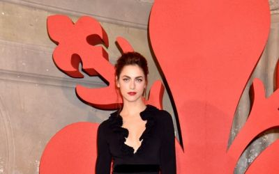 Miriam Leone wore a Gucci Cruise 2017 at a premier in Florence