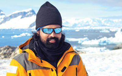 Raghunandan-Vadla-Antarctica