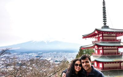 Simren-Saxena-and-her-husband-japan-trip
