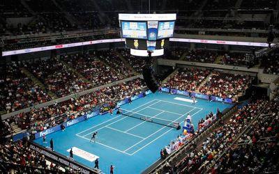 Tennis-stadium