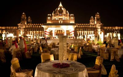 Palace Weddings are becoming hugely popular among Indians