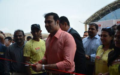 VVS Laxman inaugurates Airtel Hyderabad Marathon Expo & SportEX India