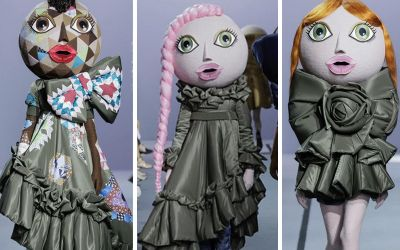 Viktor and Rolf's paris fashion week