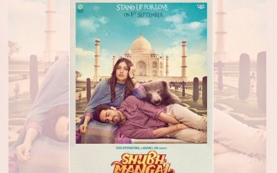 "Ayushmann Khurrana And Bhumi Pednekar In ""Shubh Mangal Saavdhan"""