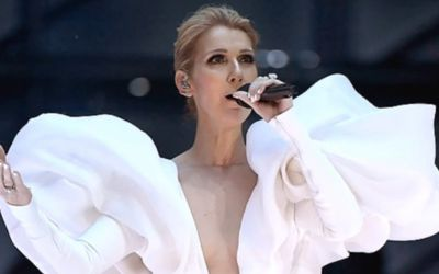 Celine Dion performance