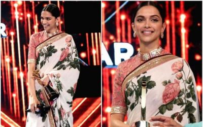 Deepika Padukone Receives The 'Entertainment Leader Of The Year' Award