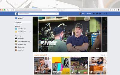Facebook Launches A Video Platform: Watch