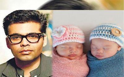 Karan Johar is a father to twins: Yash and Roohi