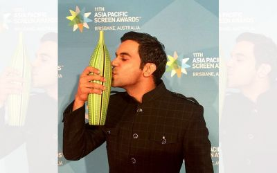 Rajkummar rao with award
