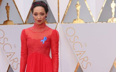 Ruth Negga is the First to make a Political Statement with her Oscar Look