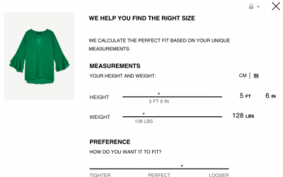 Zara Launched New Online Shopping Tool