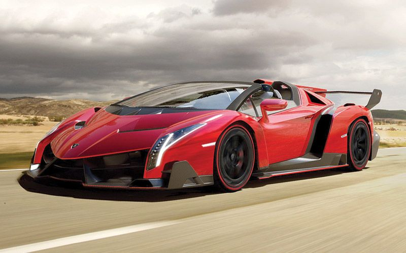 What Lamborghini Veneno Roadster You I