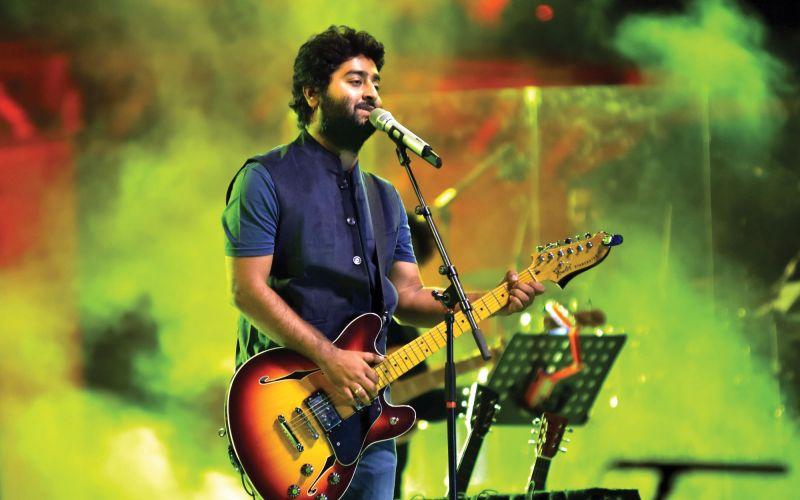 Fortunate to get good songs: Arijit Singh