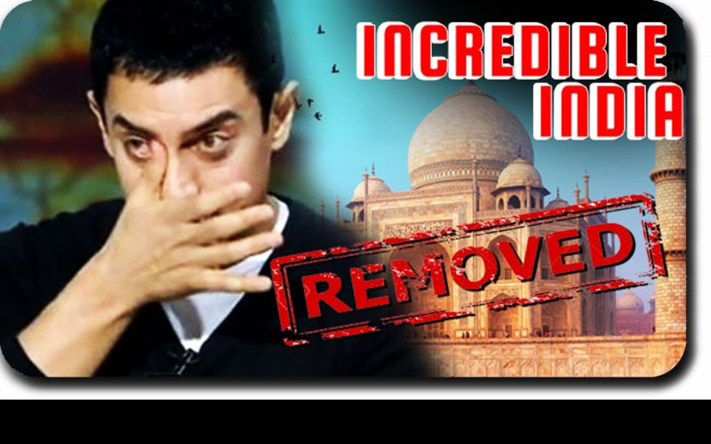 Aamir Khan out of 'Incredible India' Campaign