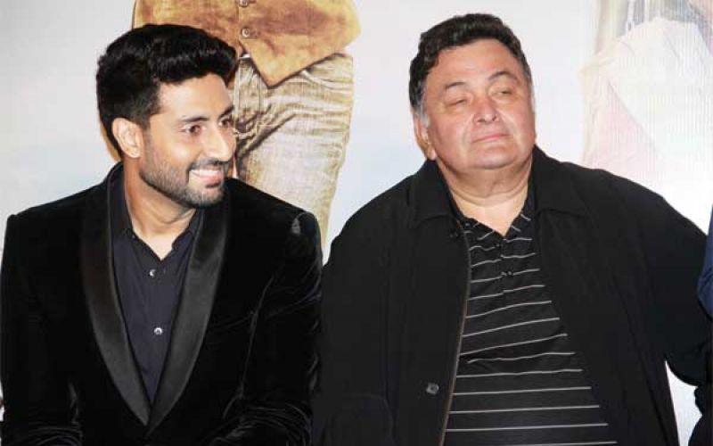 Abhishek, Rishi Launch All Is Well Trailer
