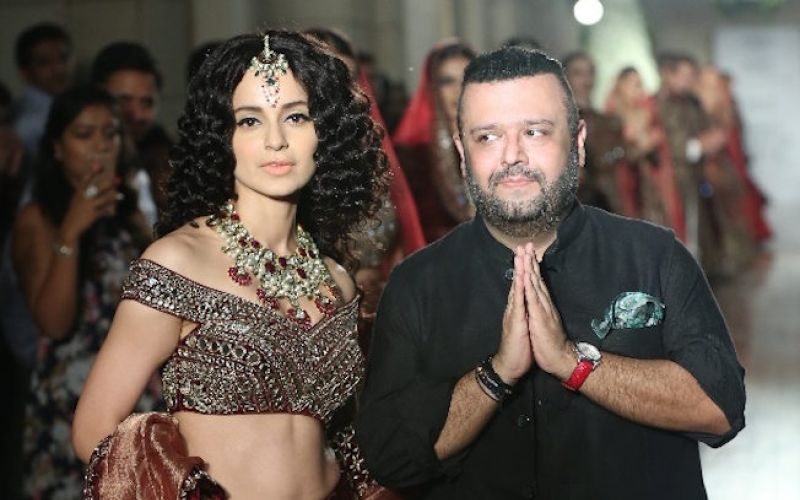 Kangana Ranaut walks for Manav Gangwani at the ICW2016