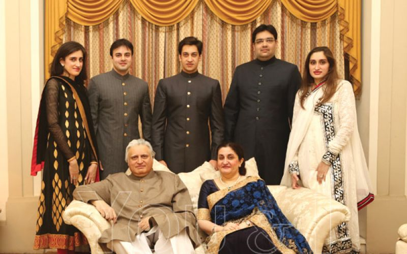 Ahmed, Uzma, Barkath, Sidra Fatima, Zafar, Nimra Fatima and Mujahid Alam Khan