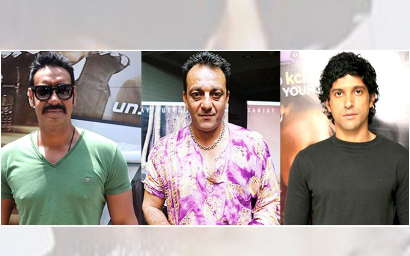 Sanjay Dutt And Farhan Akhtar In Ajay Devgan's Home Production