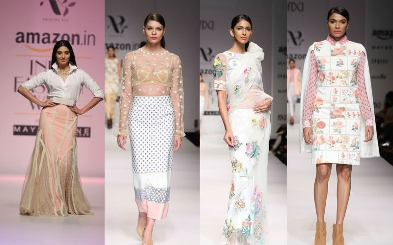 Chanderi weaves, metallics stand out at AIFW SS'17