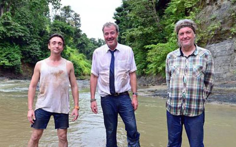 Amazon has announced that Jeremy Clarkson, Richard Hammond and James