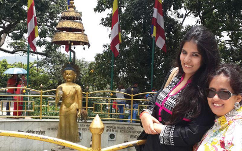 Anandita and Bani trip to Nepal