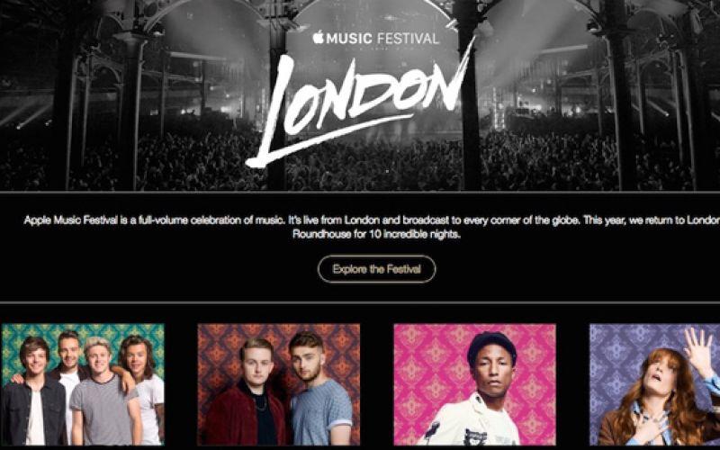 Apple Announces Live 'Apple Music Festival 2015'
