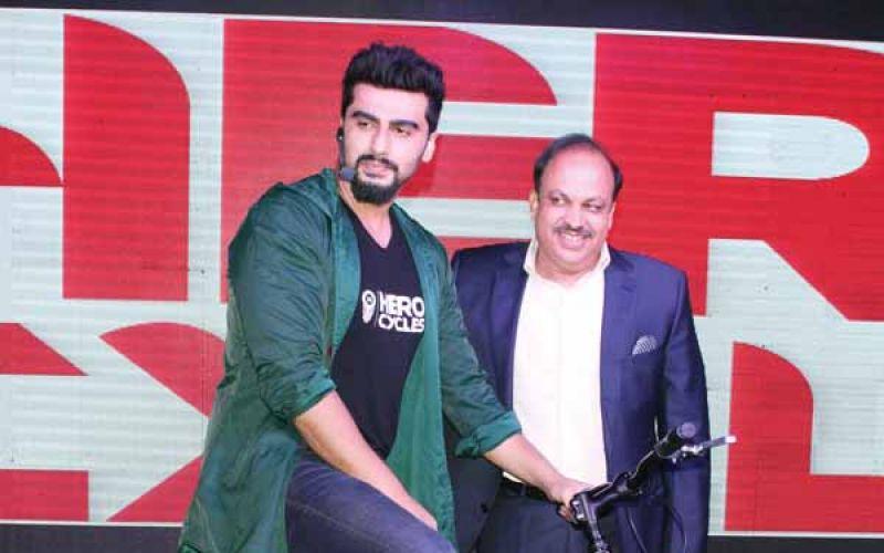 Arjun Kapoor To Endorse Hero Cycles