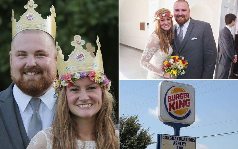 Burger King To Pay For Burger-King Wedding