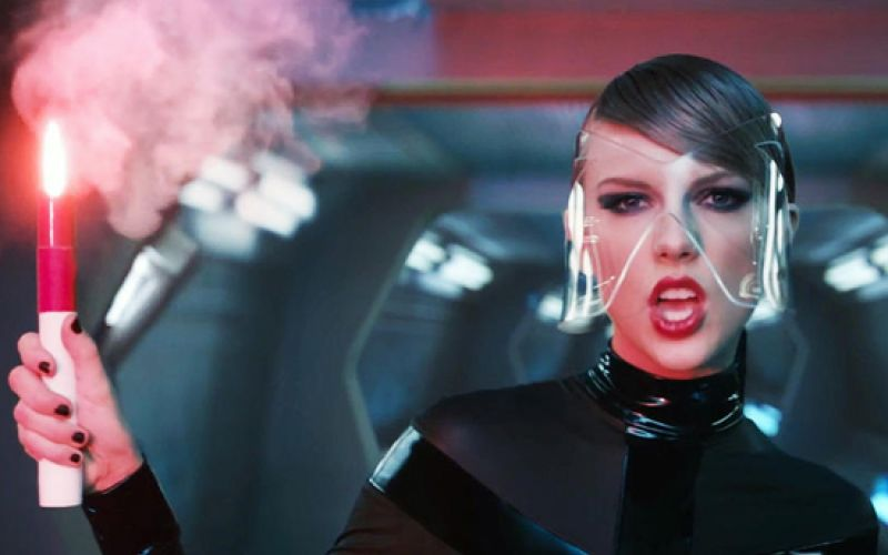 """""""Bad Blood"""" Video Outfits Came From Bondage Store"""