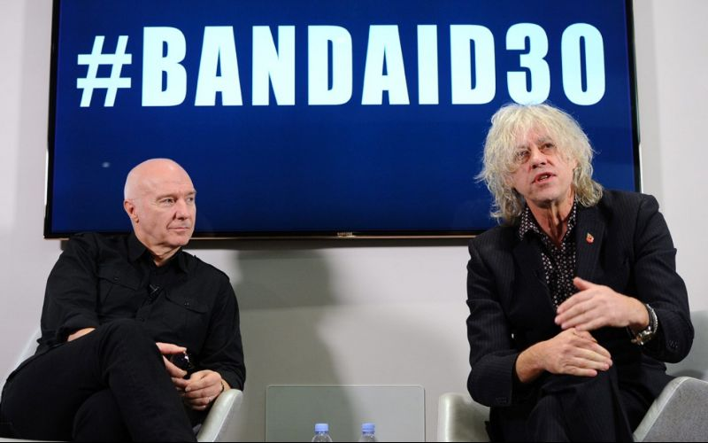 Band Aid 30's single goes straight to number 1
