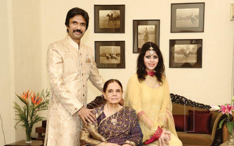 Begum Razia, Mohammad Ali and Noor Baig