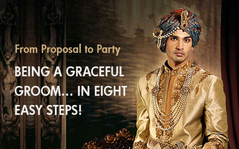 Being a graceful groom… in eight easy steps!