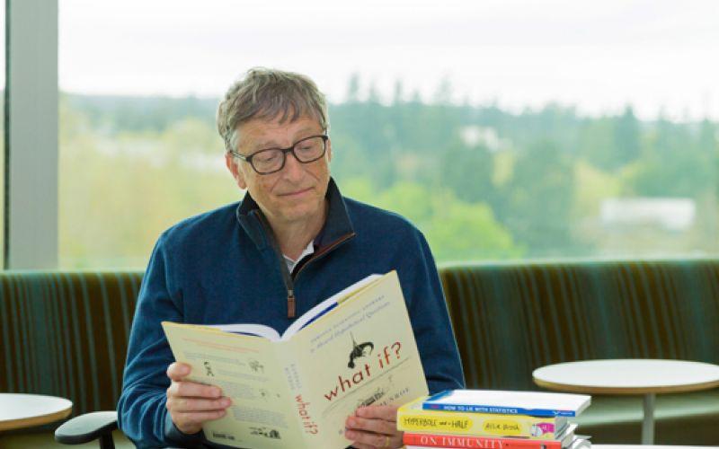 Bill Gates Posts His Summer 2015 Reading List