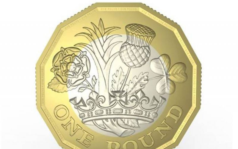 Britain Unveils A New One Pound Coin