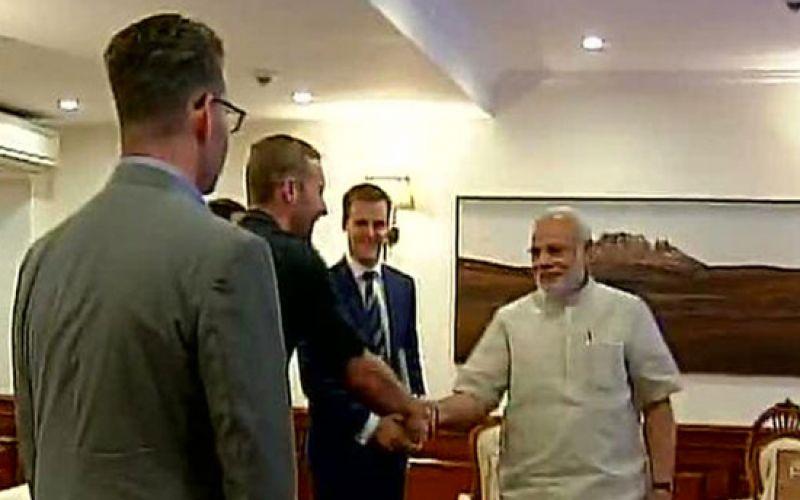 Chris Martin Meets PM Modi